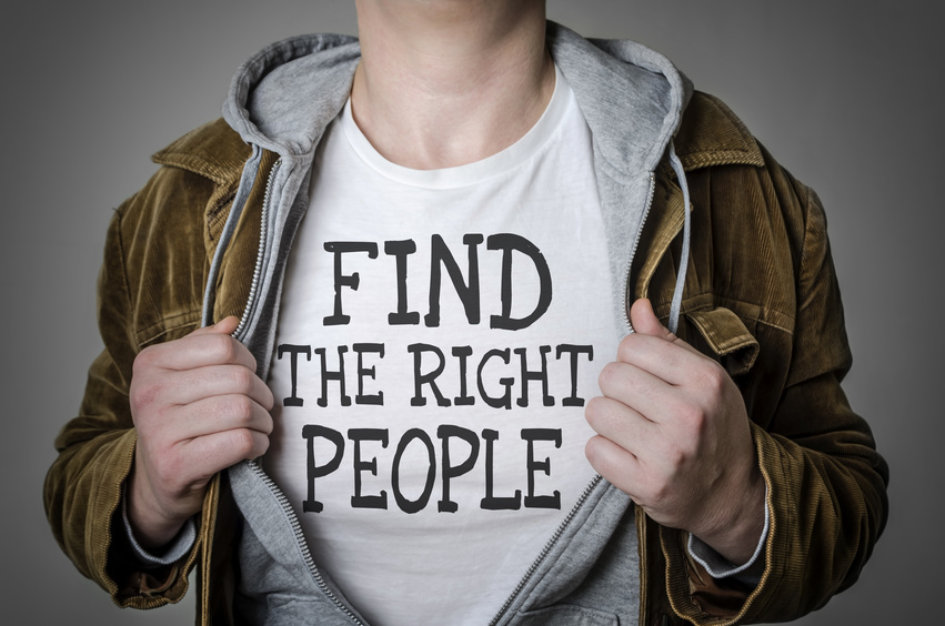 Find the right people